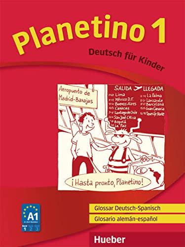 9783193915771: Planetino 1. Glossar Deutsch-Spanisch / Glosario alemán-español