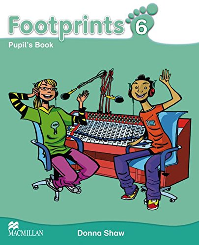 9783193929204: Footprints 6. Pupil's Book Package