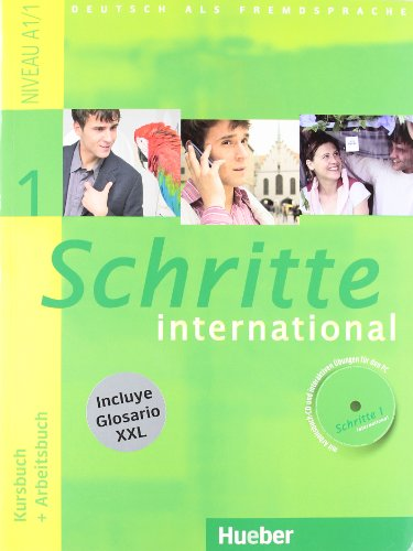 9783194018518: SCHRITTE INTERNATIONAL 1 KB+AB+CD+XXL