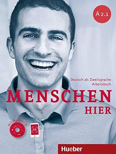 9783194019027: Menschen hier A2/1. Arbeitsbuch mit Audio-CD: Deutsch als Zweitsprache