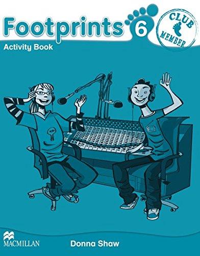 9783194029200: Footprints 6 Activity Book