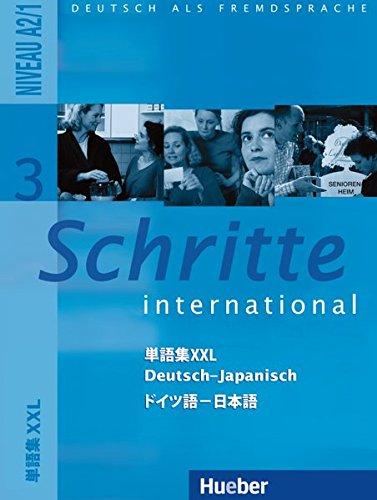 Schritte international 3. Glossar XXL Deutsch-Japanisch