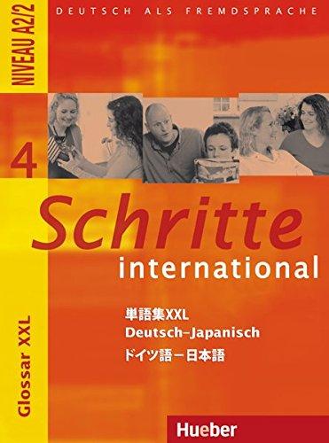 Schritte international 4. Glossar XXL Deutsch-Japanisch