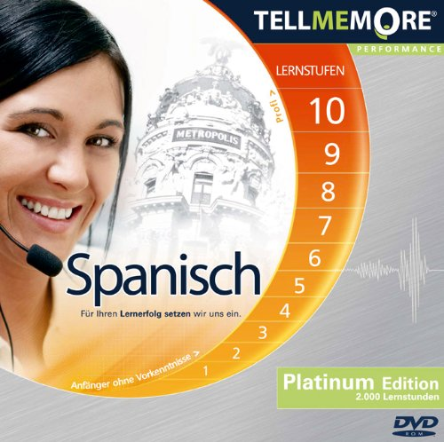 9783194195769: Tell me More Performance. Platinum Edition Spanisch. 10 Lernstufen. DVD-ROM für PC inklusive Headset [import allemand]