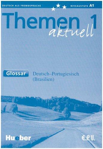 9783194216907: Themen aktuell 1. Glossar Deutsch-Portugiesisch (Brasilianisch).
