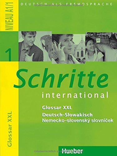 Schritte international 1. Glossar XXL Deutsch-Slowakisch