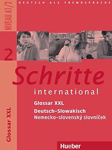 Schritte international 2. Glossar XXL Deutsch-Slowakisch