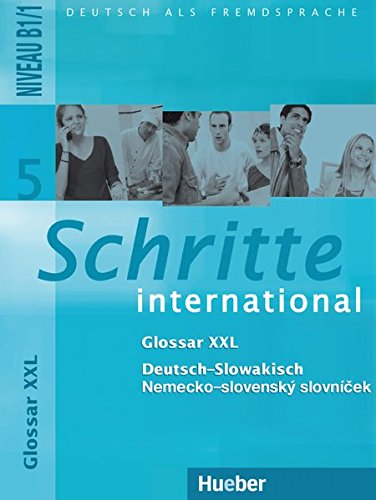 Schritte international 5. Glossar XXL Deutsch-Slowakisch