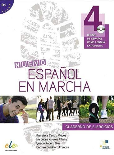 9783194245037: Nuevo Español en marcha 04. Arbeitsbuch mit Audio-CD: Curso de español como lengua extranjera