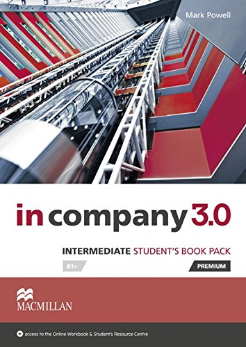 9783194329812: Intermediate: in company 3.0. Student's Book with Webcode