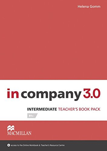 9783194429819: Intermediate: in company 3.0. Teacher's Book with Webcode