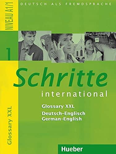 9783194518513: Schritte International: Glossary Xxl Deutsch - Englisch 1 (German Edition)