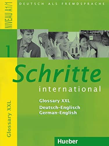 Schritte international 1. Glossar XXL Deutsch-Englisch: Deutsch