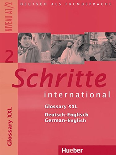 9783194518520: Schritte international 2. Niveau A1/2 / Glossar XXL Deutsch-Englisch, Glossary German-English: Deutsch als Fremdsprache