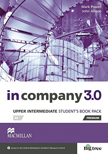 9783194629813: Upper-Intermediate: in company 3.0. Student's Book with Webcode
