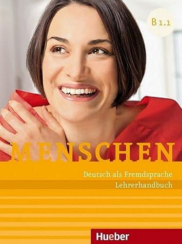 9783194719033: Menschen Sechsbandige Ausgabe: Lehrerhandbuch B1.1