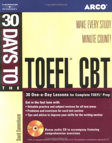 9783194729247: The Complete Guide to the to the TOEFL CBT, w. 13 Audio-CDs and 1 CD-ROM