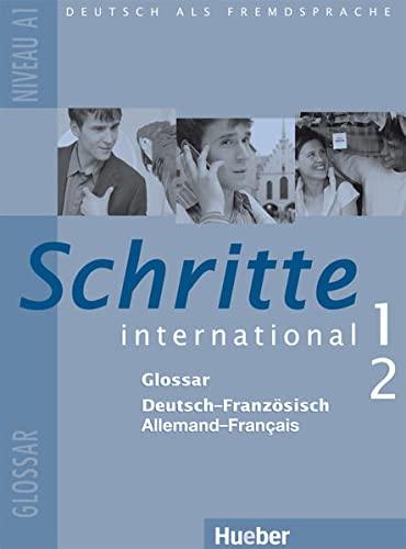 9783194918511: Schritte international 1+2. Glossar  Deutsch-Franz�sisch: Deutsch als Fremdsprache - Niveau A1