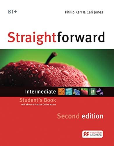 9783194929531: Straightforward Intermediate. Student's Book, Workbook, Audio-CD and Webcode: Intermediate / Package: Student's Book with Webcode and Workbook with Audio-CD