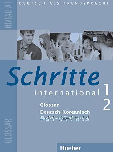 9783195018517: Schritte international 1+2. Glossar Deutsch-Koreanisch