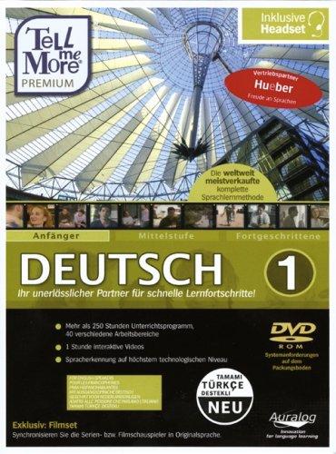 9783195195713: Tell me More Deutsch Anfänger 01. Premium Version 8.0 DVD-ROM für Windows Vista, XP, 2000, 98