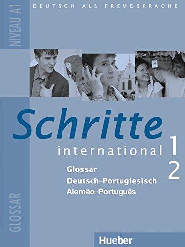Schritte international 1+2. Glossar Deutsch-Portugiesisch