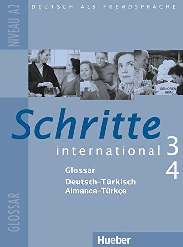 Schritte international 3+4. Niveau A2. Glossar Deutsch