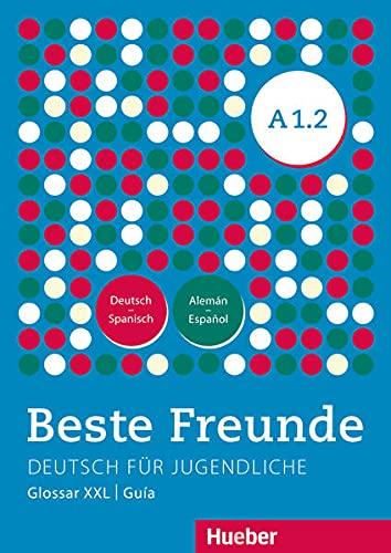 9783195410519: Beste Freunde A1/2 Glosario XXL Deutsch-Spanisch Alemán-Español