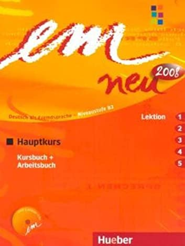 9783195416955: EM NEU 2008 HAUPTK.(1-5)Kb+Ab+1CDAb: Kursbuch & Arbeitsbuch Lektion 1-5 Mit Arbeitsbuch Audio-CD