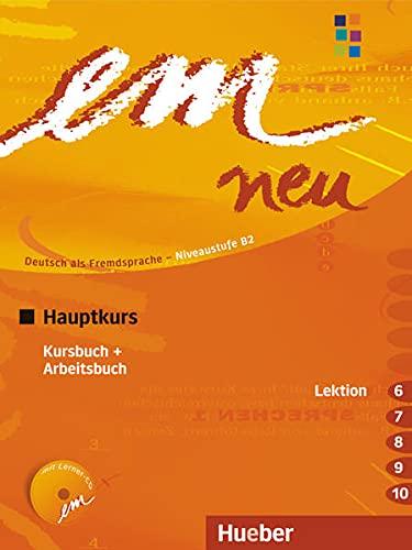 9783195516952: EM NEU 2008 HAUPTK.(6-10)Kb+Ab+1CDAb: Kursbuch & Arbeitsbuch Lektion 6-10 Mit Arbeitsbuch Audio-CD
