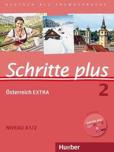 9783196019124: Schritte plus 02. Kursbuch + Arbeitsbuch + Österreich EXTRA mit Audio-CD