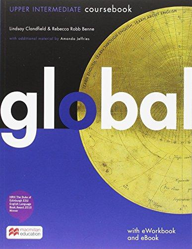 9783196029802: Global. Upper Intermediate. Student's Book with e-Workbook (DVD-ROM)