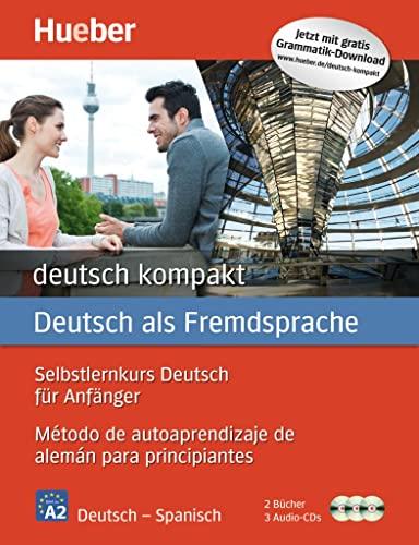 9783196074826: Deutsch Kompakt: Kursbuch, Arbeitsbuch + Cds (Spanish Edition)