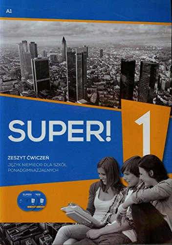 9783196110630: Super 1 Jezyk niemiecki Zeszyt cwiczen CD A1