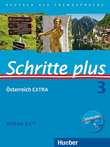 9783196119138: Schritte plus - Deutsch als Fremdsprache + Österreich EXTRA Kursbuch + Arbeitsbuch + interaktive Übungen + Audio-CD