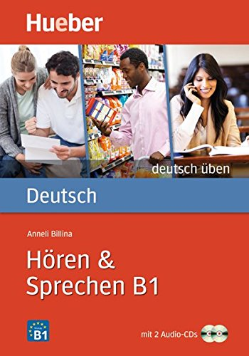 9783196174939: Deutsch uben: Horen & Sprechen B1 - Buch & CDs (2)