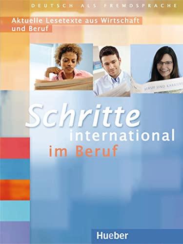 9783196618518: SCHRITTE INT.BERUF Lesetexte Wirtschaft