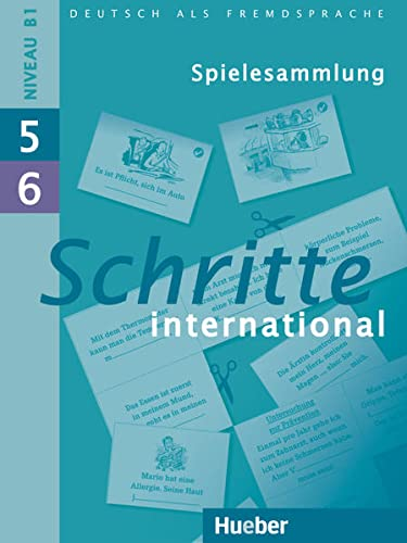 9783197418551: Schritte International: Spielesammlung 5 & 6 (German Edition)