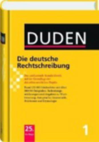9783197617350: Der Duden in 12 Banden: 1 - Die Deutsche Rechtschreibung