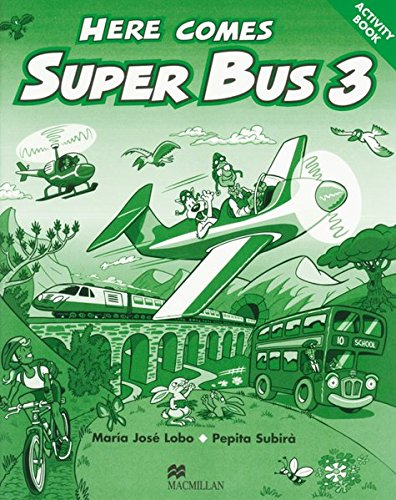 9783197729732: Here comes Super Bus. Level 3. Activity Book