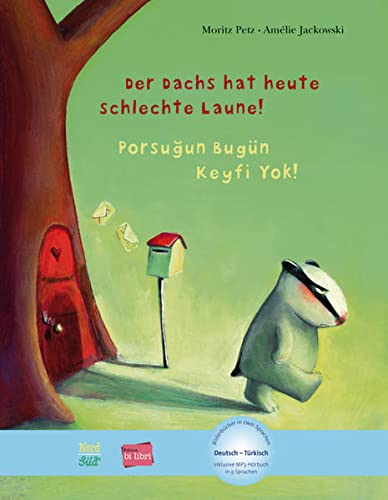 9783197895963: Der Dachs hat heute schlechte Laune! Kinderbuch Deutsch-Türkisch