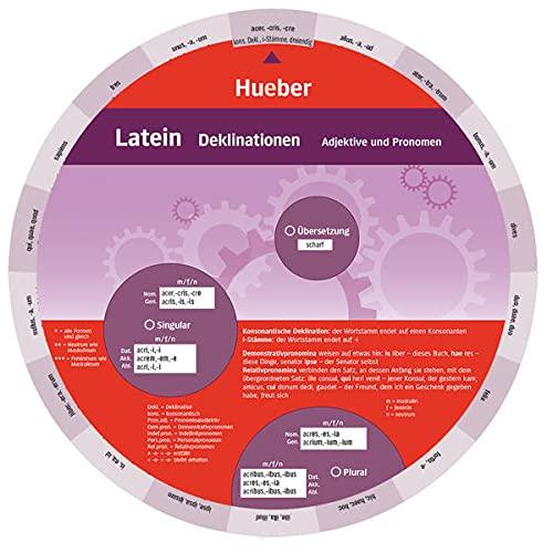 9783198295465: Wheel. Latein Deklinationen. Sprachdrehscheibe: Substantive, Adjektive und Pronomen