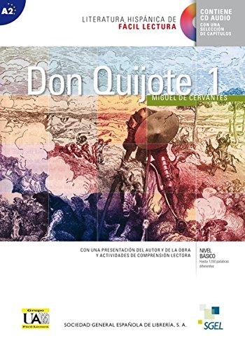 9783198745014: Don Quijote de la Mancha 01. Lektüre mit Audio-CD: Niveau A2