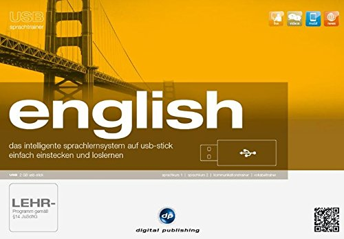 9783198923634: USB Sprachtrainer English: Das intelligente Sprachlernsystem für Englisch auf USB-Stick