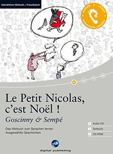 9783198925287: Le Petit Nicolas, c'est Noël ! - Interaktives Hörbuch Französisch: Das Hörbuch zum Französisch lernen