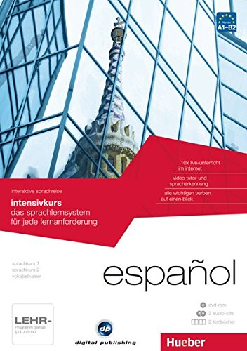 9783198930175: interaktive sprachreise intensivkurs español: das sprachlernsystem für jede lernanforderung / Paket: 1 DVD-ROM + 2 Audio-CDs + 2 Textbücher