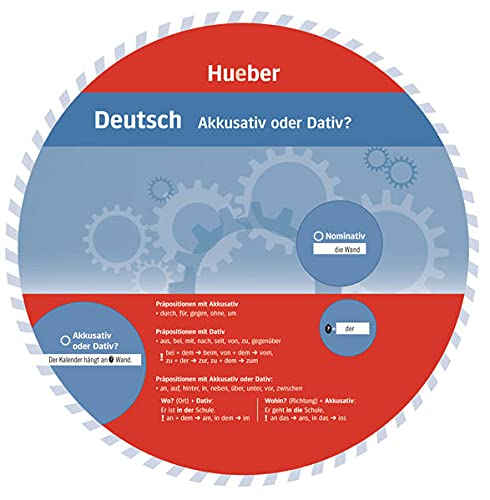 9783199095460: Wheel Deutsch: Akkusativ Oder Dativ? (German Edition)