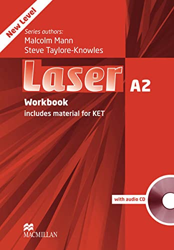 9783199429289: Laser A2. Workbook with Audio-CD (without Key): includes Material for KET