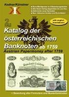 9783200019577: Katalog der österreichischen Banknoten ab 1759: Austrian Papermoney after 1759
