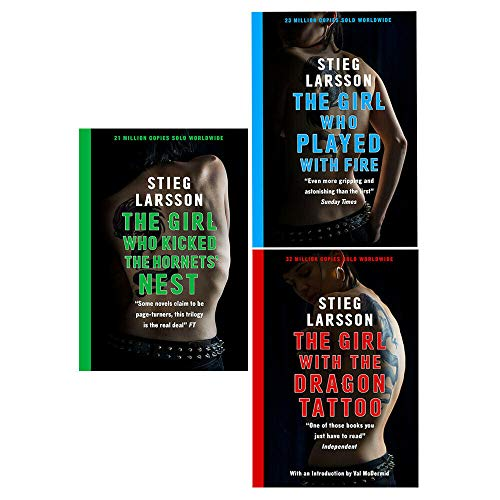 9783200303669: Stieg Larsson Collection, Millennium Trilogy: The Girl with the Dragon Tattoo...